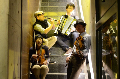 セルティックミュージックフェスティバルのバンド紹介!Les Korrigans