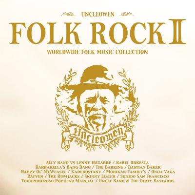 タワーレコード×UNCLEOWEN コラボ企画V.A.『FOLK ROCK 2』限定発売!
