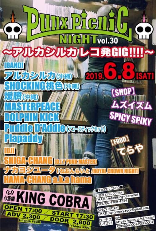 PUNX PICNIC NIGHT vol.30