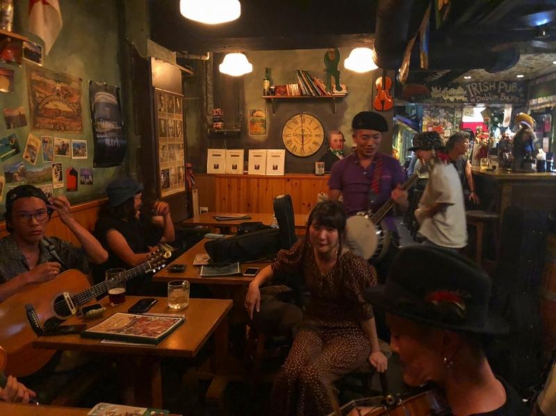 大阪難波のアイリッシュパブ、Dublinbay/ダブリンベイでのアイリッシュセッションイベント!