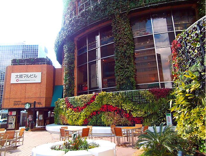 タワーレコード梅田大阪マルビル店 1F緑のテラス