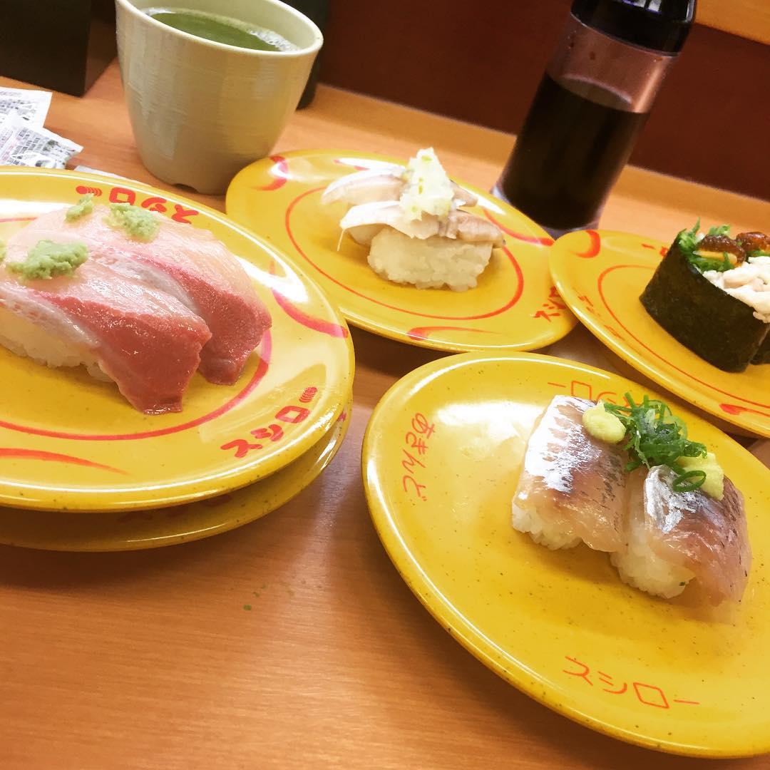 <br /> やっぱり寿司でした^ ^<br />
