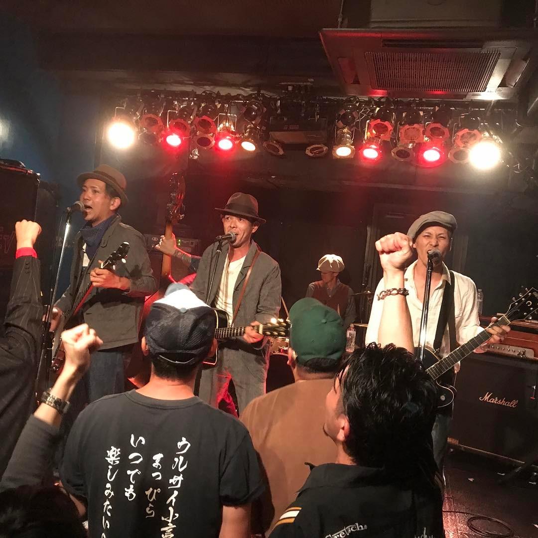 ロールアップ! ジョニーくんの新加入バンドだぜ! Be Good!!