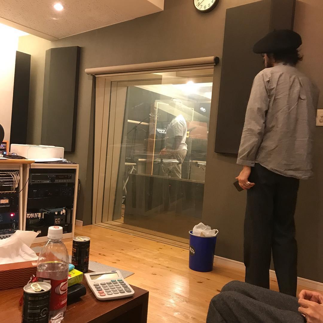 <br /> 今日はレコーディング!<br />