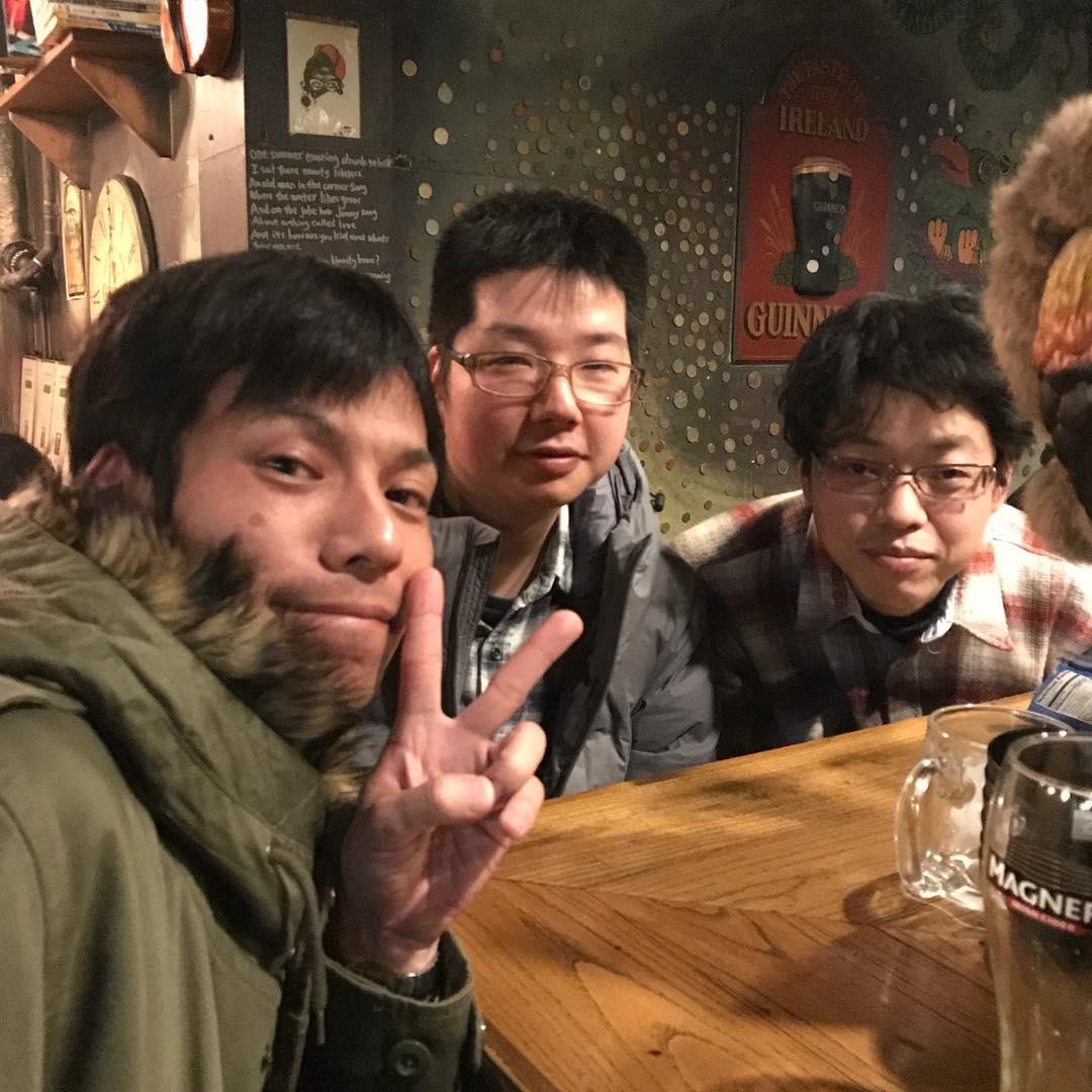 <br /> リョウスケクルーと乾杯頂きました🍺🍺<br />