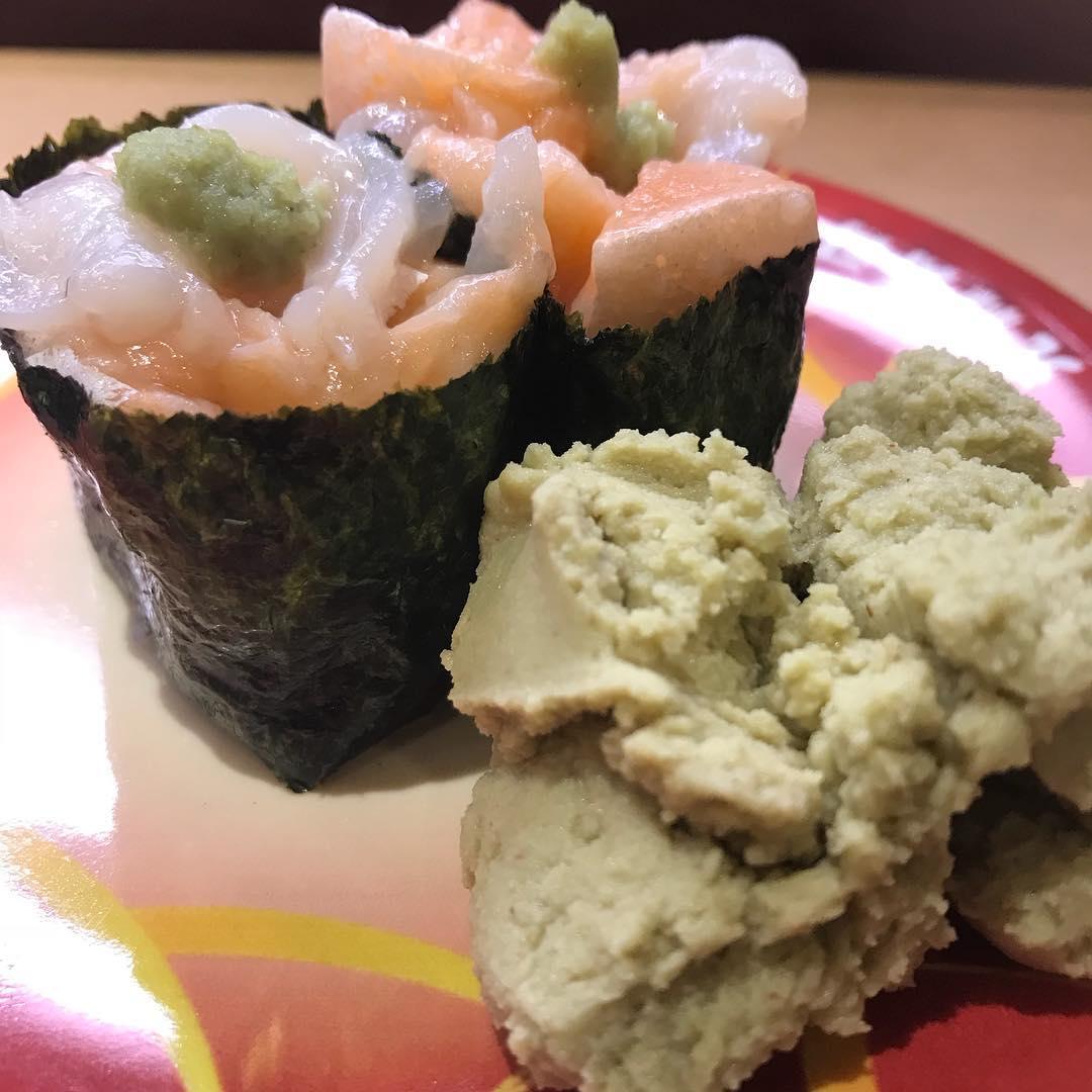<br /> ワイルドローバー前にお寿司の勉強!<br /> 楽しみ🍣<br />