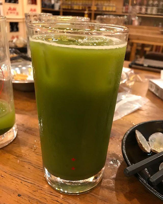 天満で緑茶ハイ🍵