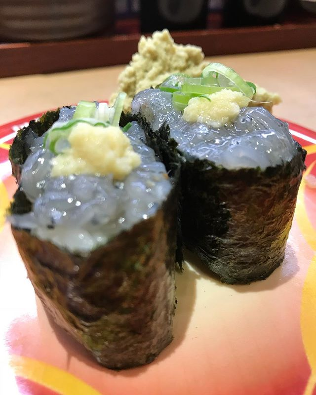 お寿司はとんでもないものを盗んでいきました。私の心です🍣