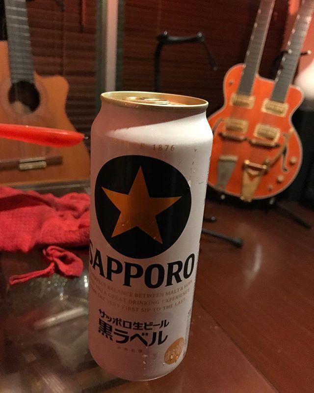 明後日は札幌に行くので、サッポロの練習しとかないとね🍺🍺